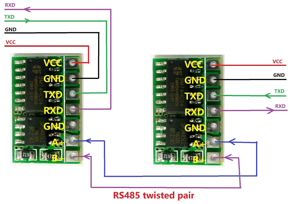 Mini Automatic Control Sp485 Ic 5v Rs485 To Ttl 232 Module