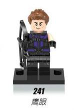 1XH 241 Building Blocks Super Heroes Avengers thanos Captain America Hawkeye Black Widow Minifigures children Mini Figures - Block Toy s store