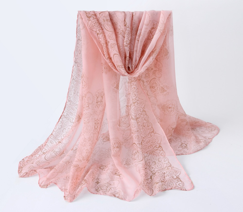 New arrival 2016 new brand designer womem solid color silk chiffon scarfs spring and autumn women's solid color scarf cachecol(China (Mainland))