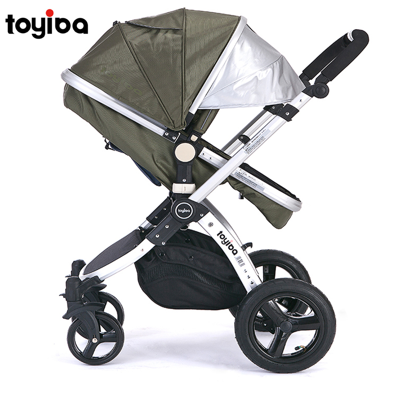 Toyiba baby stroller light folding stroller baby child trolley