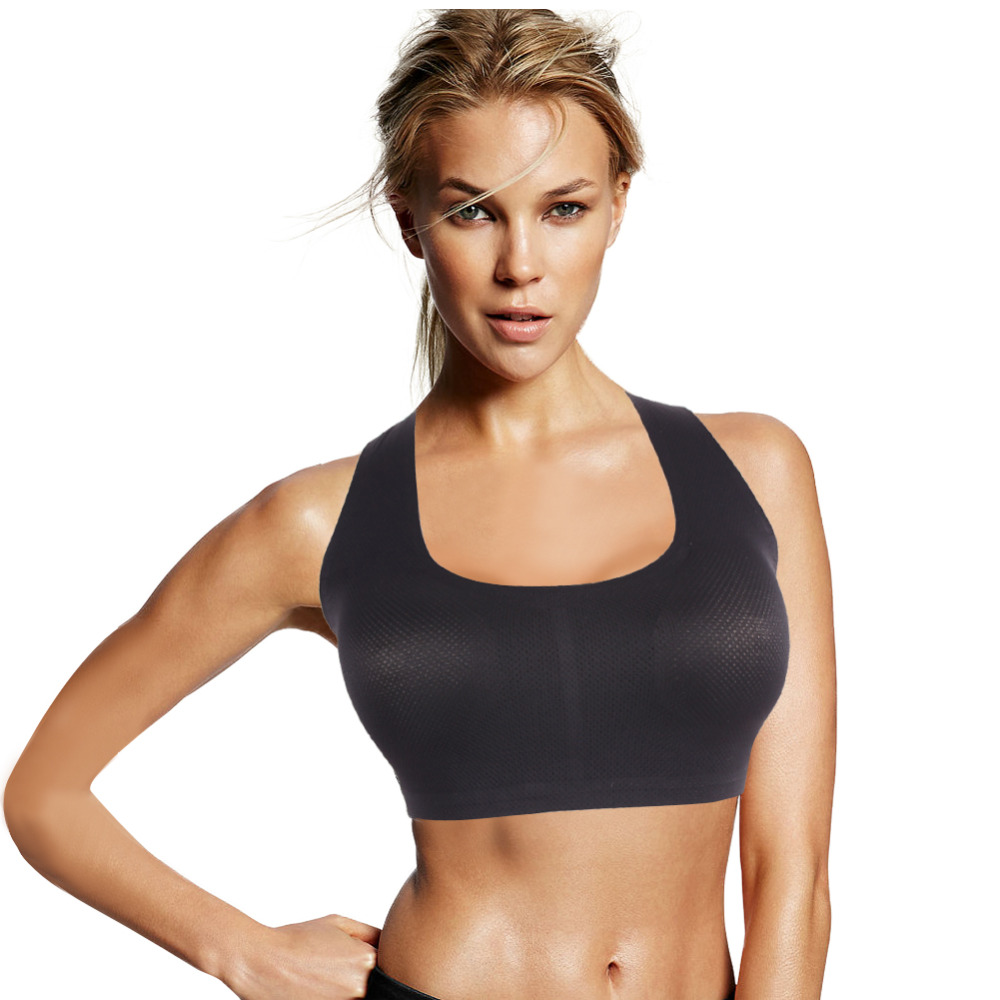 2015 New Women Breathable Sports Bra for Running Gym ...