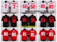 Stitiched,San Francisco,Carlos Hyde,Hayne NaVorro Bowman Eric Reid Anquan Boldin,Montana Patrick Willisfor youth,camouflage(China (Mainland))