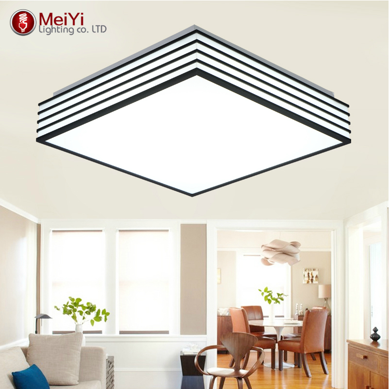 New!favorable Led Ceiling Light AC85-265V Indoor Lighting Round/Square Bedroom Living Room Lamp Foyer Lamps Free Shipping(China (Mainland))
