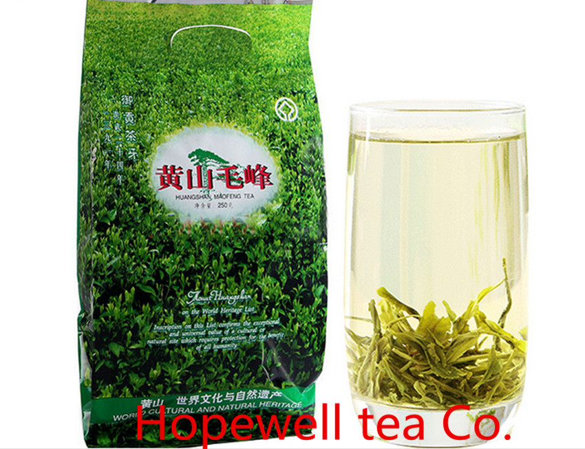 Free shipping 250g Green Tea Real Organic new early spring Huangshan Maofeng tea Green Chinese green