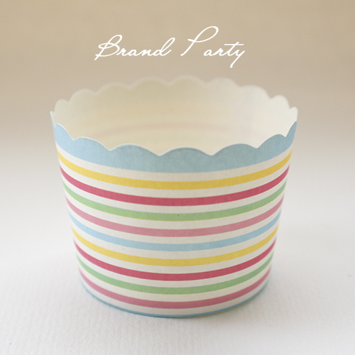 Cupcake baking cups colourful bands bulk 100pcs/lot High temperature baking greaseproof paper muffin cupcake wrappers(China (Mainland))