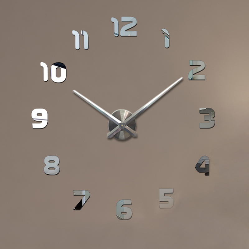Large modern wall clocks promotion shop for promotional - Reloj de pared moderno ...