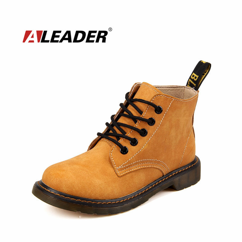 Гаджет  Leather Ankle Boots Women Autumn/Winter Shoes Martins Motorcycle Boots For Women Botas Femininas 2014  None Обувь