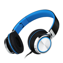 Sound Intone Ms200 High Quality Stereo Bass for Phones Headset Mp3 Foldable Wires Brand Headphones Earphones