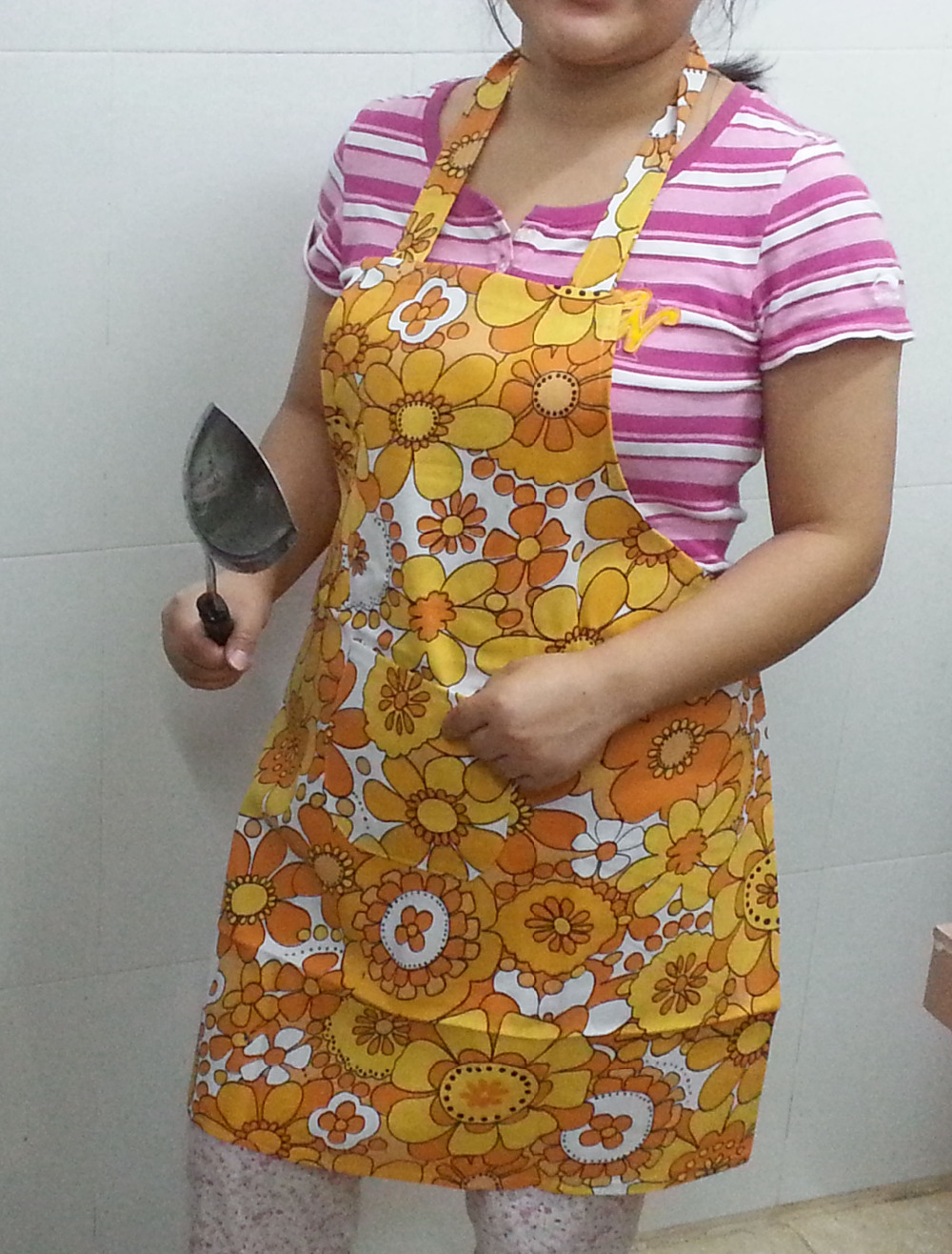 High quality Fashion colourful Working Aprons Kitchen aprons,Free shipping,low price(China (Mainland))