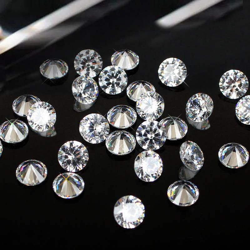 Crystal Color Brilliant Cubic Zirconia Stones Round Shape Pointback Cubic Zirconia Beads Nail Art Decorations 4-18mm<br><br>Aliexpress