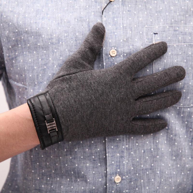 Bont gevoerde handschoenen