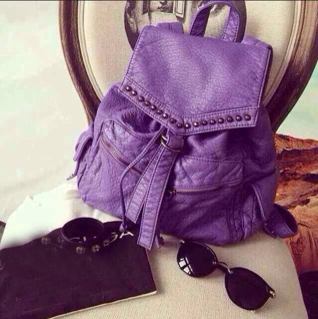 Purple Backpack Purse | Os Backpacks