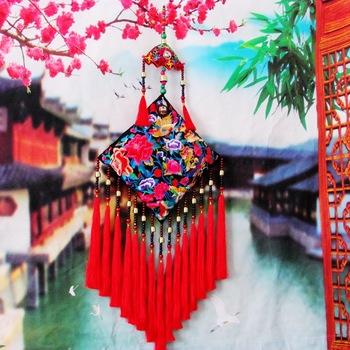 Ручной работы вышитые этнических стене висит кулон стене висит гобелен большие колокола гаджеты ковролин tapisserie гобелен ткань