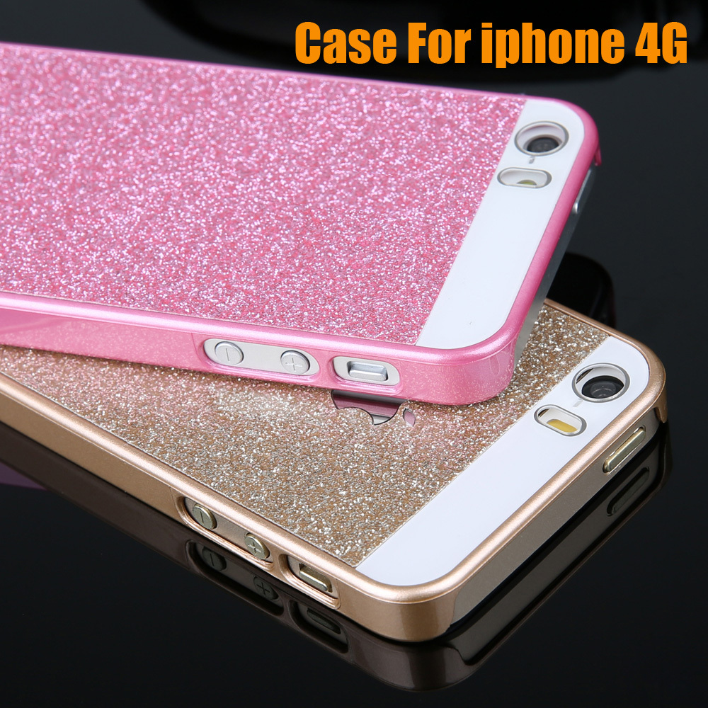 Free New Fashion Simple mobile phone cases PC Material Case Cover shell For Iphone 4 4S 4G Hard case covers SJ010701(China (Mainland))