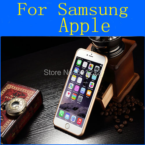 Ultra Thin Slim frame case Metal Bumper cover iphone 4 4s 5 5s 6 6plus samsung galaxy S4 S5 note 3 n9100 - Shenzhen Strong Trade Company store