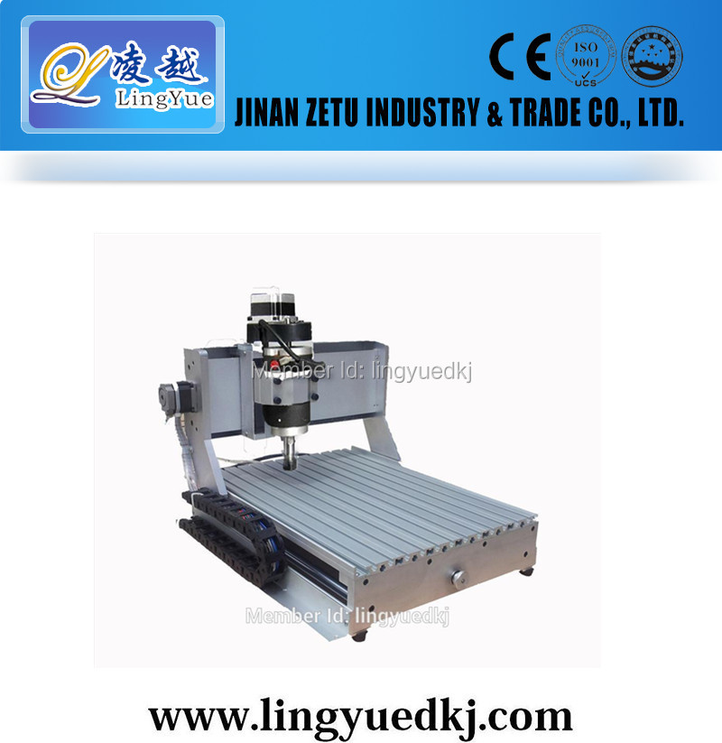 cnc router machine 3040/jinan cnc router /1.5kw water cooling spindle/dust collector for cnc router(China (Mainland))