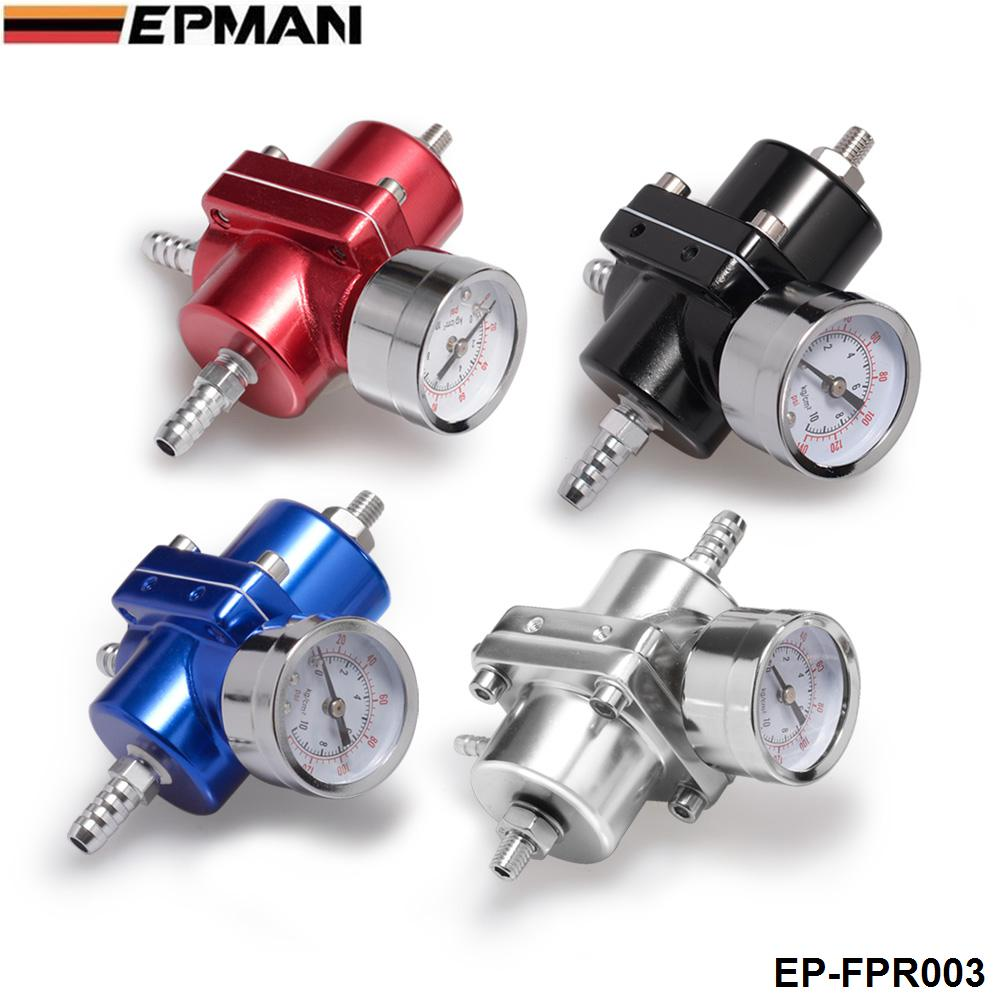 Epman universal jdm adjustable fpr fuel pressure regulator for What is fpr rating