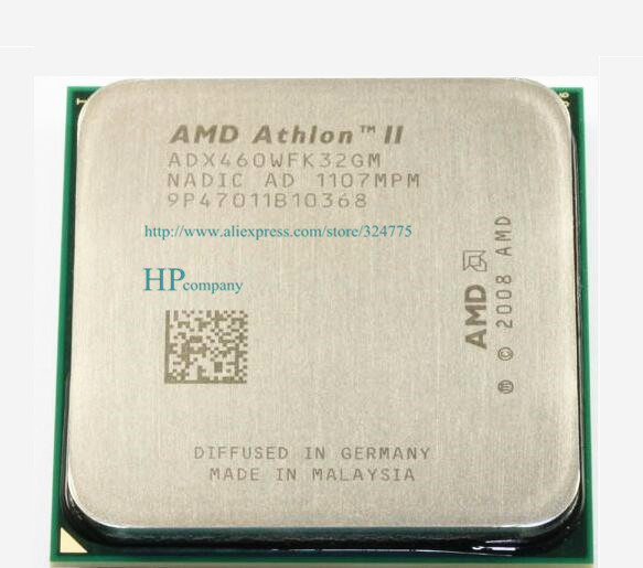 Free shipping For AMD Athlon II X3 460 CPU Processor Triple-Core 3.4Ghz/ L2=2M /95W / 2000GHz Socket am3 am2(China (Mainland))
