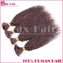 Grade 6A bulk hair for braiding virgin brazilian human hair virgin hair bulk No Shedding No Tangle stocked hot sale top quality