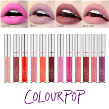HOT Brand Lip Color COLOURPOP Ultra Matte Liquid Lipstick Moisture Long Lasting LIP STICK COLOURPOP 19 Colours Available(China (Mainland))