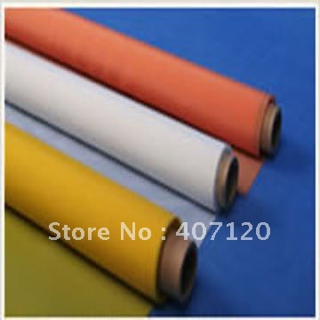 39T (100 mesh) 100% polyester screen printing mesh 39T-55 width:127cm good quality and free shipping(China (Mainland))