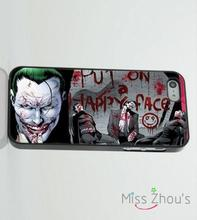 For iphone 4/4s 5/5s 5c SE 6/6s plus ipod touch 4/5/6 mobile cellphone cases cover Joker and Batman Freaky Super Hero Comic