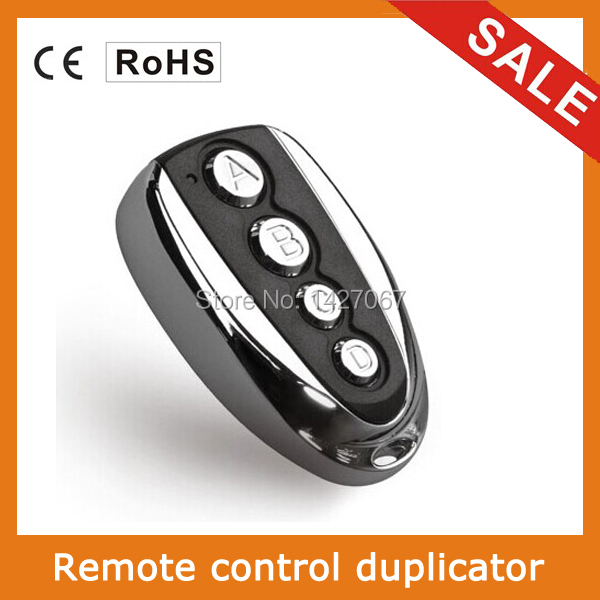 Hot selling 4 button clone remote control for garage door,abcd remote control duplicator(China (Mainland))