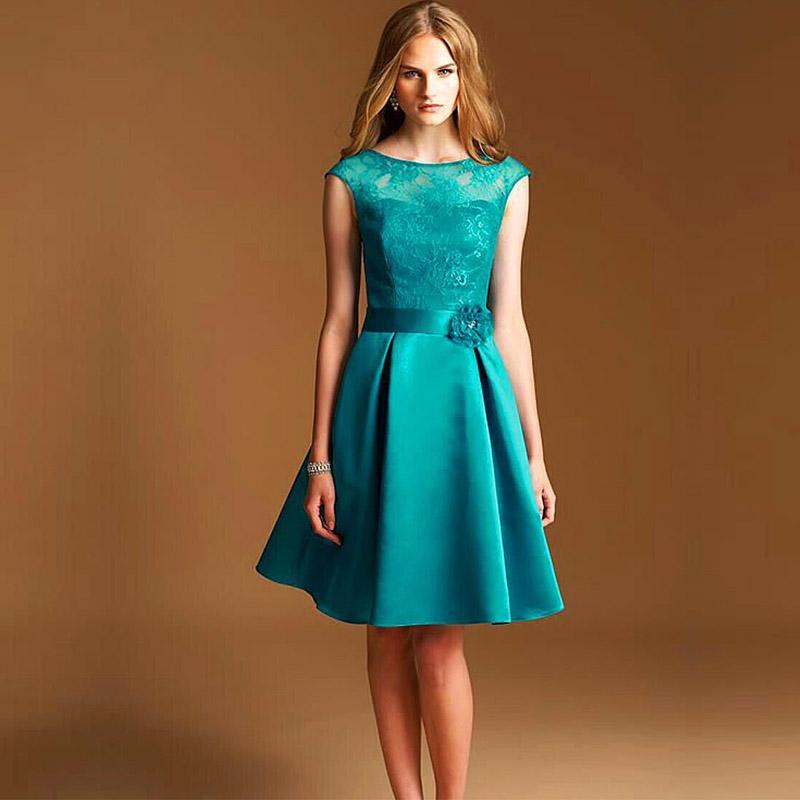 Фасоны платьев по колено