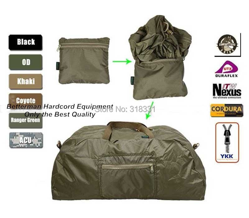 ( Foldable Design)Genuine COMBAT2000 N748 Waterproof Nylon Gear Bag Travel Accessories Bags Outdoor Sport Shoulder Shopping Bags(China (Mainland))