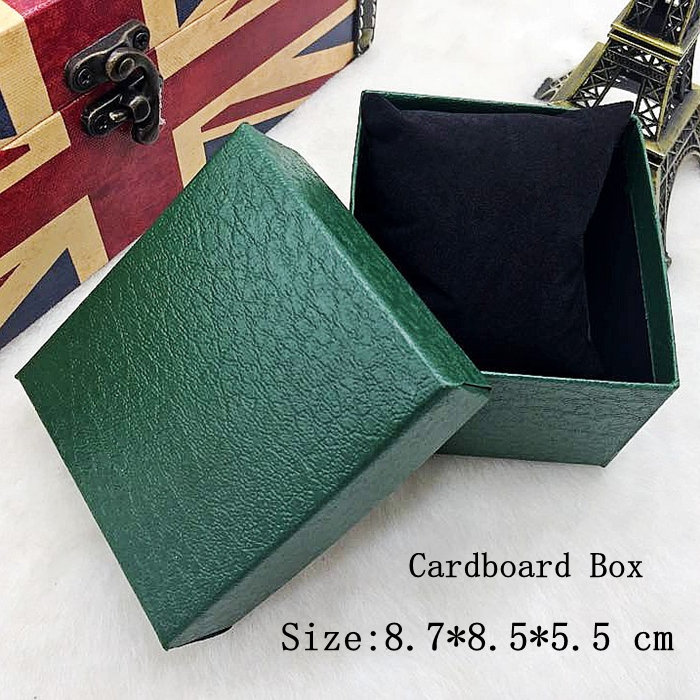 Wholesale Cardboard Watch Box Green Litchi Grain Surface Watch Box Packing And Jewelry Gift Box Can Customize LOGO If You Pay It(China (Mainland))