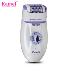 Kemei New 2 in 1 Women Shave Wool Device Knife Electric Shaver Wool Epilator Shaving Lady's Shaver Female Care(China (Mainland))