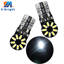 Buy YM E-Bright 20-200Pcs White T10 W5W 194 T10 3014 18 SMD CAN bus Error LED Light Turn Signal light Side Marker lights Bulb for $10.91 in AliExpress store