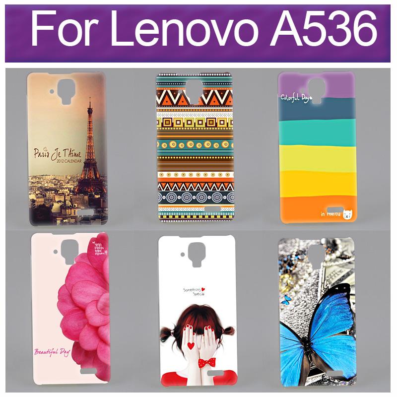 Гаджет  High Quality Printing Pretty Paiting Back Cover For Lenovo A536 Case None Телефоны и Телекоммуникации