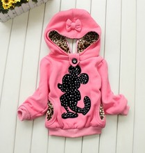 Retail! Baby girl hoodies,Girls jackets,children's winter coat,Children's clothing, children warm coat in winter(China (Mainland))
