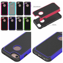 Football Hybrid Rugged Case Iphone 7 7G 7th 4.7 Iphone7 Plus 5.5 Dot Square Hard Plastic PC+ Soft Silicone Gel Cover - Cooliaccessory electronic Co.,Ltd store