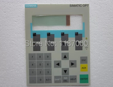 New Membrane keypad for 6AV6-641-0AA11-0AX0 OP7 well tested working<br><br>Aliexpress