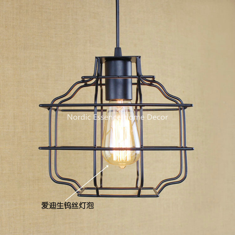 American creative retro modern Indonesia Malaysia External Trade Nordic rural single-head LOFT pendant lamp wall sconce light(China (Mainland))