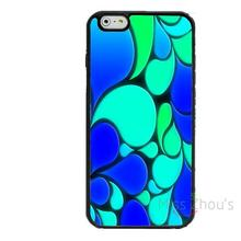 For iphone 4/4s 5/5s 5c SE 6/6s 7 plus ipod touch 4/5/6 back skins mobile cellphone cases cover Abstract Cold Water Drops