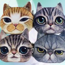 Прекрасный забавный дизайн животных шаблон печать кот сумки посыльного сумки на ремне Kebi744