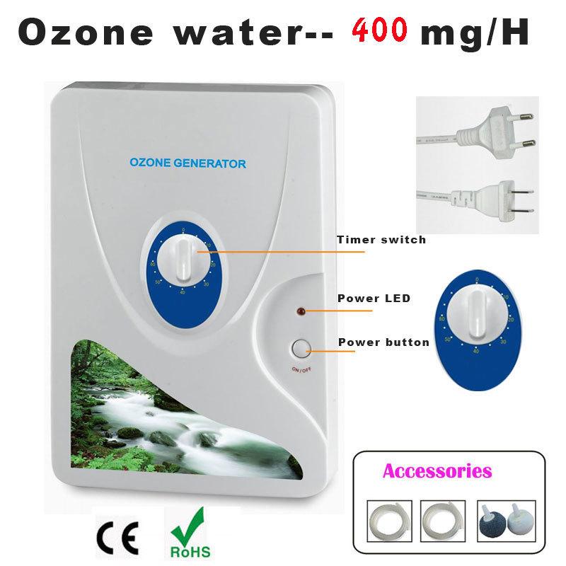 Fruit Vegetables Food Active Ozone Generator Water Air Sterilizer Ozonizer O3 Worldwide Store,water ozone(China (Mainland))