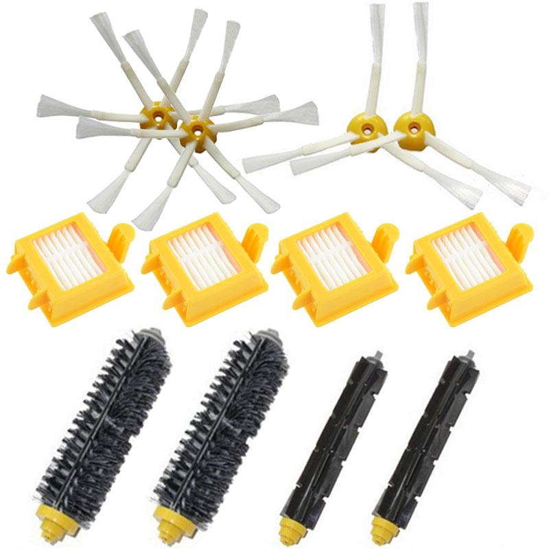 For iRobot Roomba 770 replacement parts irobot 780 roomba Filter 750 760 761 790 Side Brush Vacuum Cleaner accessories(China (Mainland))