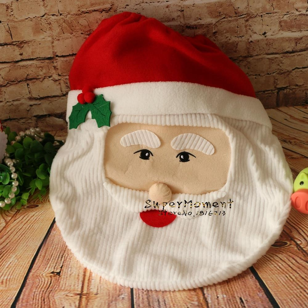 Wholesale 4 Styles Christmas Toilet Seat Cover Home Bathroom