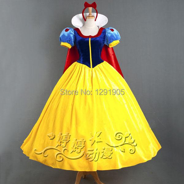 Здесь можно купить  adult women snow white princess costume dress with red cloak adult women snow white princess costume dress with red cloak Одежда и аксессуары
