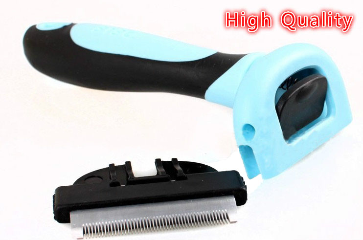 Гаджет  Pet Dog Cat Grooming Tool Dog Brush Hair Comb for Dogs Cats Pets Pet Supplies D0115 None Дом и Сад
