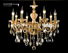 NEW! D590mm H580mm 8 Arms Modern Crystal Chandelier Lamp for Sale with 3 Year Warranty! (A CCLD8003A-L8) Free Shipping(China (Mainland))