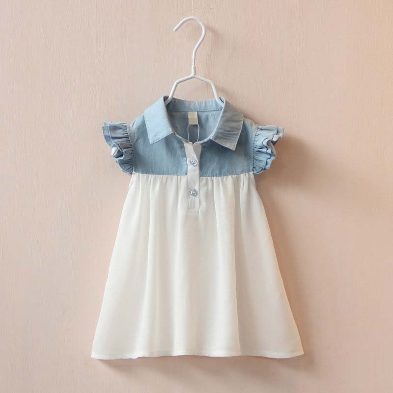 British style 2014 summer fashion high quanlity baby girl dress princess print knee-length sleeveless kids dresses for girls<br><br>Aliexpress