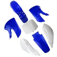 TDR Motorbike ABS Plastic Fairing Kits Body Plastic for Kawasaki Blue + White Free Shipping TC080 HHY(China (Mainland))