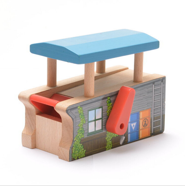 Christmas Gift Thomas Parabolic Machine fit Thomas and Brio Wooden Train Educational Boy/ Kids Toy(China (Mainland))