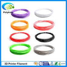 20 Colors 10m x 5PCS / lot  Flexible 3D Printer ABS Filament 1.75mm For 3D Printer / Printing Pen Reprap /Wanhao /Makerbo
