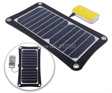 6.5Watt Portable Solar Panel Charger for Camping SUNPOWER Solar Cell+ 4 Suckers for Absorbing+ 4 Buckles for Hanging + USB Cable(China (Mainland))